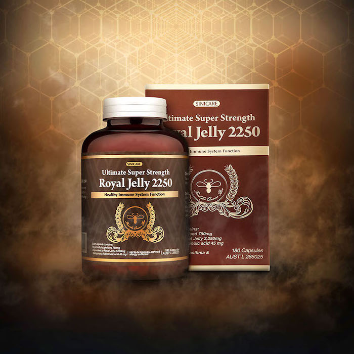 시니케어 로얄제리 2250mg 180정 SINI CARE Royal Jelly 2250mg 180Capsules