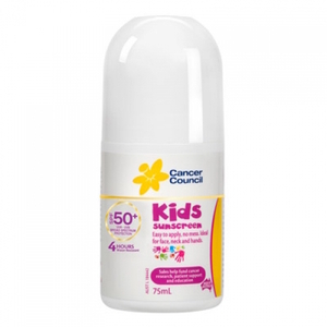 캔서카운실 키즈 선크림 롤 온 75ML, CANCER COUNCIL Kids suncream Roll On 75ml