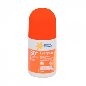 캔서카운실 에브리데이 롤 온 1+1 SPF30+ 75 mL, CANCER COUNCIL Everyday Roll On 1+1 SPF30+ 75 mL