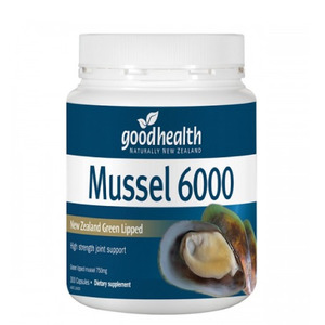 굿헬스 초록입홍합 6000mg 300정 GOOD HEALTH GREEN LIPPED MUSSEL 6000MG 300CAPS