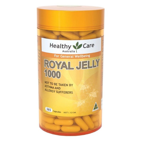 헬씨케어 로얄제리1000mg 365정 Healthy Care Royal Jelly 1000mg 365c