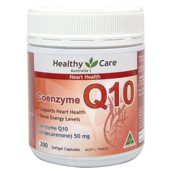 헬씨케어 코엔자임큐텐 50mg 200정  Healthy Care CoEnzyme Q10 50mg 200 Capsules