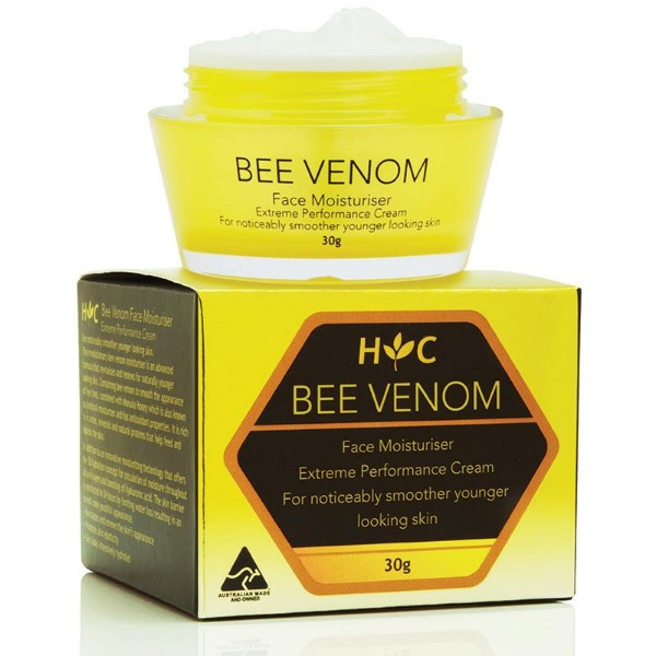 헬씨케어 비베놈 페이스 크림 30g Healthy Care Bee Venom Face Moisturiser 30g