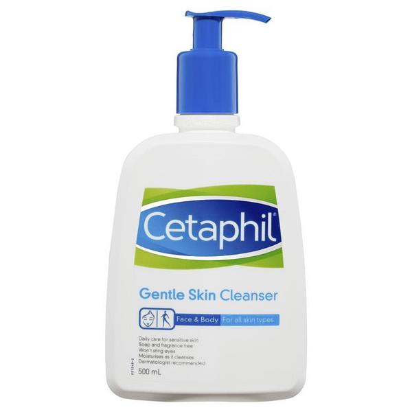세타필 젠틀 스킨 클렌저 500ml, Cetaphil Gentle Skin Cleanser 500ml