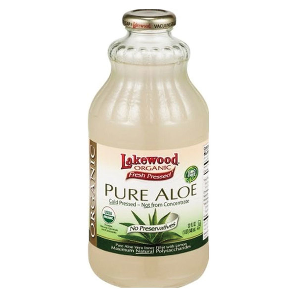 레이크우드 퓨어 알로에 + 레몬 쥬스 946mL Lakewood Pure Aloe with Lemon Juice 946ml Exclusive Size