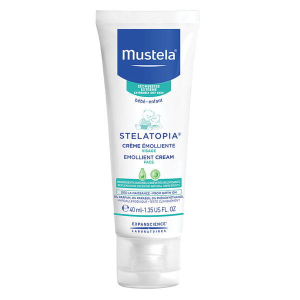 Mustela Stelatopia Emollient Face Cream 40ml Online Only