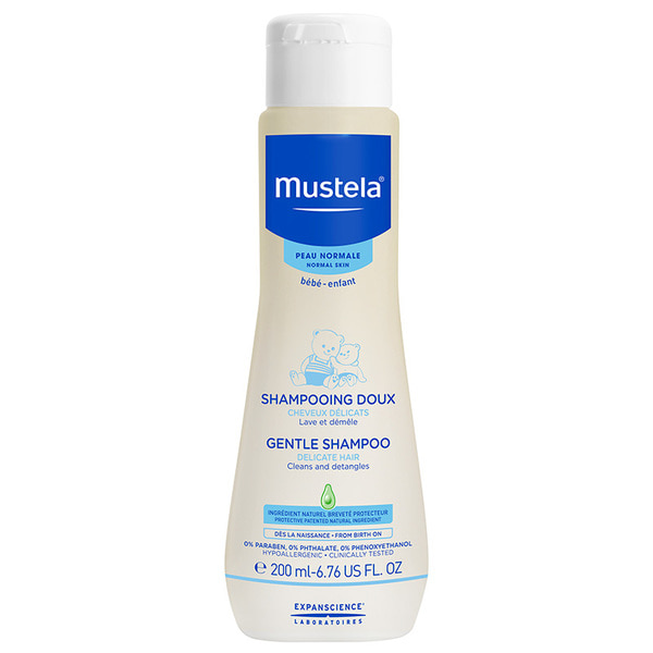 무스텔라 젠트 샴프 200ml Online Only, Mustela Gentle Shampoo 200ml Online Only