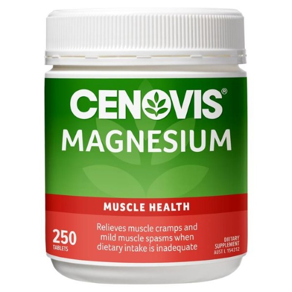 세노비스마그네슘벨류팩250타블렛[Cenovis] Magnesium Value Pack 250 Tablets Exclusive