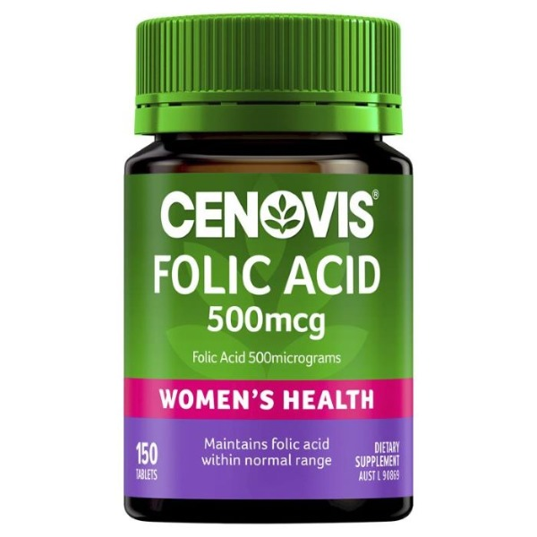 세노비스엽산500mcg 150정[Cenovis] Folic Acid 500mcg 150 Tablets