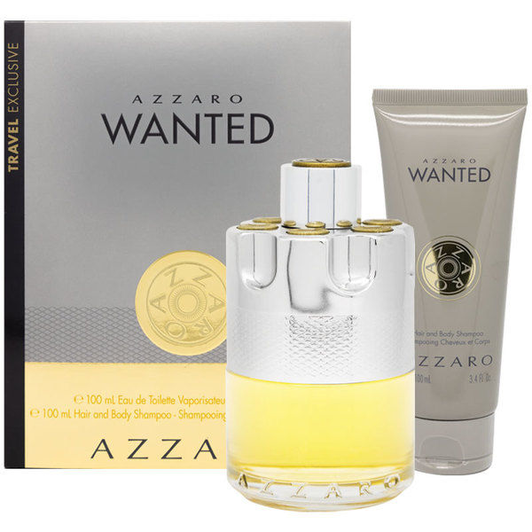 아자로 원티드 Eau De 뜨왈렛 50ml 2 피스 셋, Azzaro Wanted Eau De Toilette 50ml 2 Piece Set