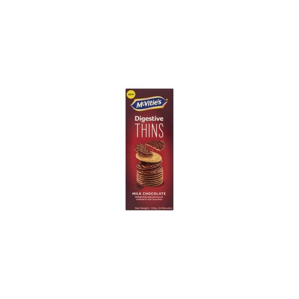 Thins Milk Chocolate Biscuits 150g
