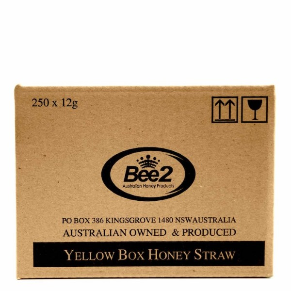 비투 호주 유칼립투스 꿀 스틱 12g x 250개 Bee2 Australia Eucalyptus Honey Straws 12g 250ea
