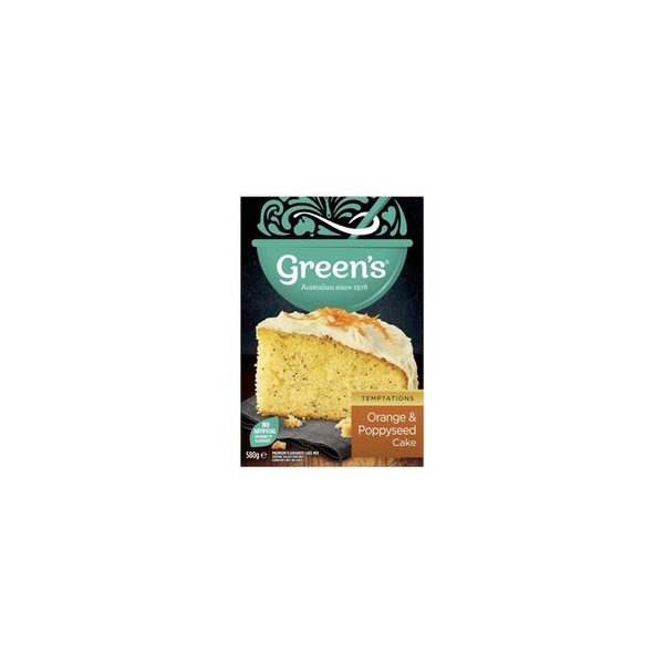 Orange Poppyseed Cake Mix 580g