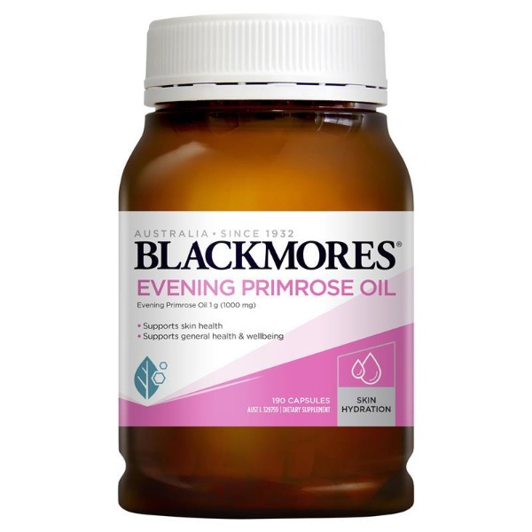 블랙모어스 달맞이꽃종자유 1000mg 190정 BLACKMORES Evening Primrose Oil 1000mg 190capsule