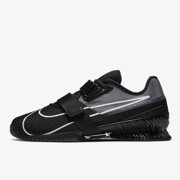 Nike Romaleos 4 Training Shoe Black/Black/White M11