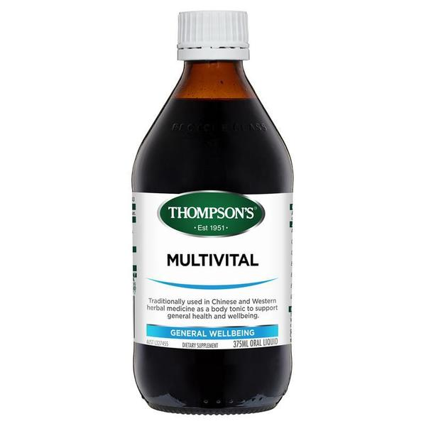 톰슨 멀티바이털 리퀴드 375ml Thompsons MultiVital Liquid 375ml