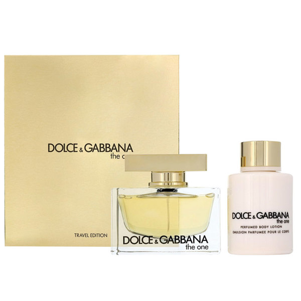Dolce & Gabbana for Women The One Eau de Parfum 75ml 2 Piece Set