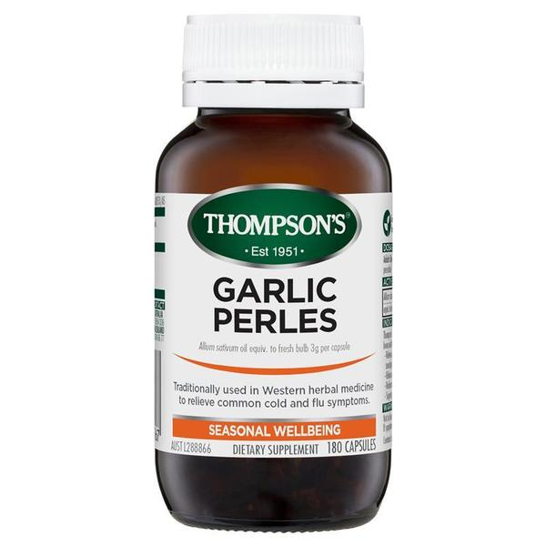 톰슨 갈릭 펄 180 정 Thompsons Garlic Perles 180 Capsules