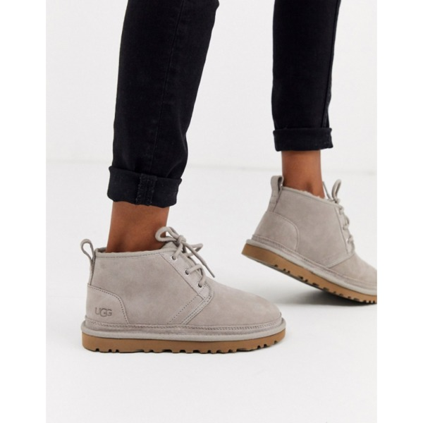 UGG Neumel Grey Lace Up Ankle Boots PRODUCT CODE1466665