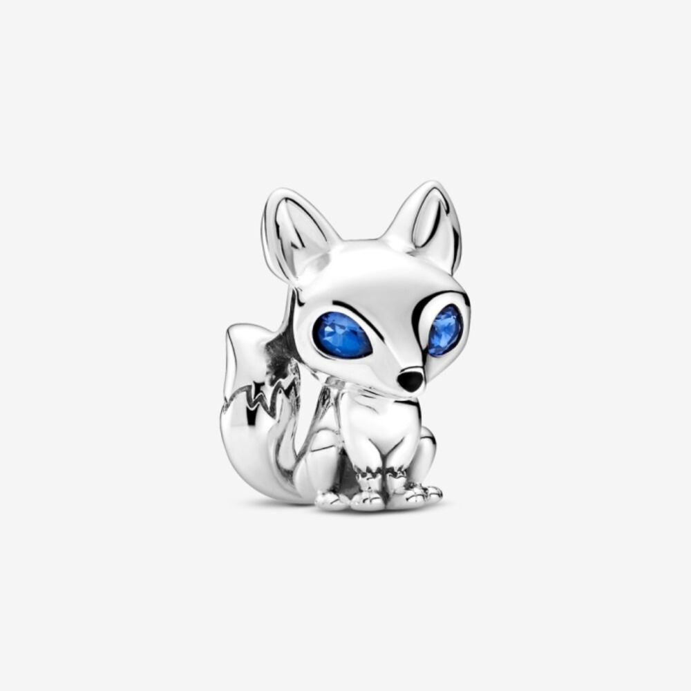 Blue-Eyed Fox Charm 799096C01