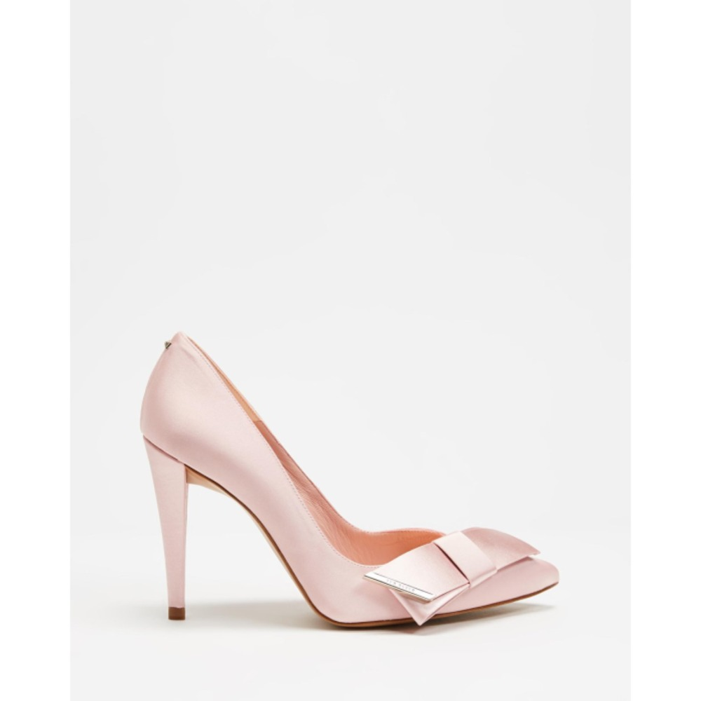 Ted Baker Zafia Satin Bow High Heel Courts TE729SH78RKB